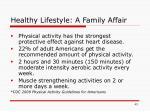 healthy lifestyle a family affair43