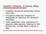 healthy lifestyle a family affair44