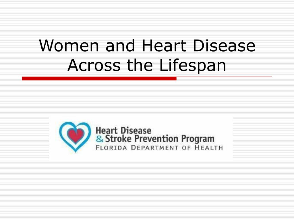 women and heart disease across the lifespan l.