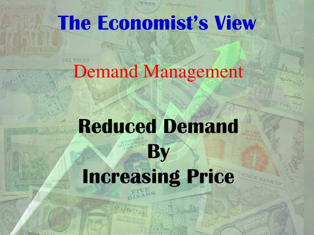 The Economist's View