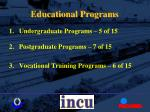 educational programs8