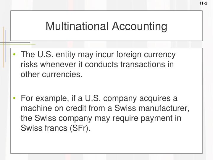 Multinational accounting3