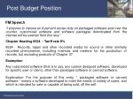 post budget position8