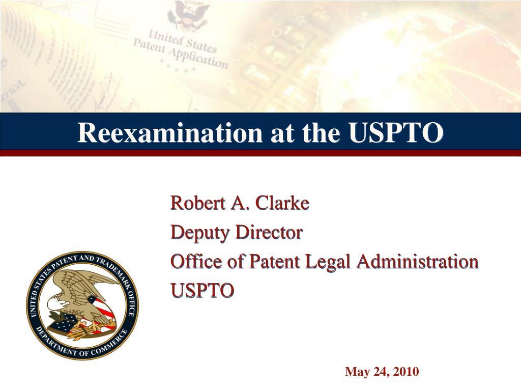 reexamination at the uspto l.