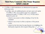 third party comments after owner response mpep 2666 0546