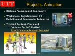 projects animation