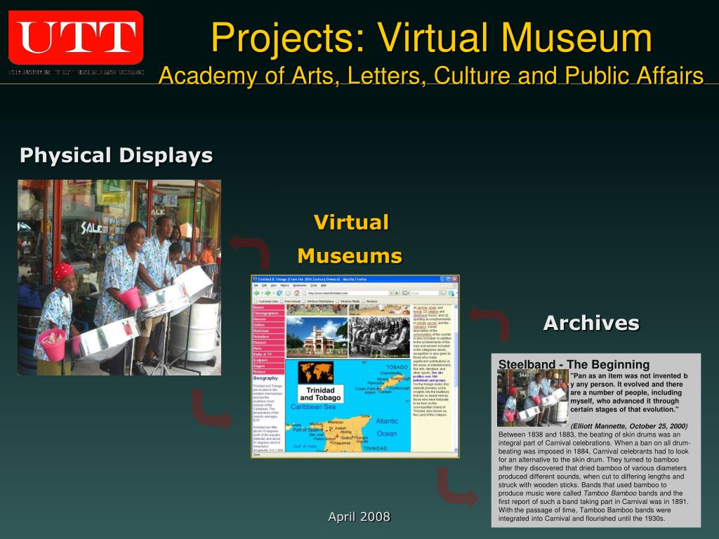 Projects: Virtual Museum