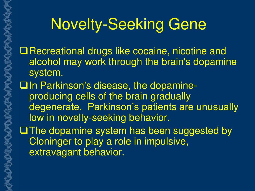 Novelty-Seeking Gene