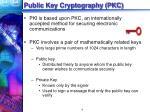 public key cryptography pkc