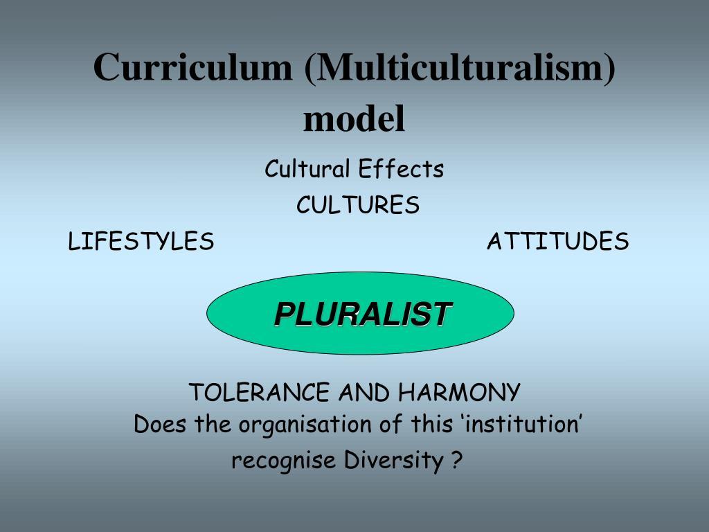 Curriculum (Multiculturalism) model