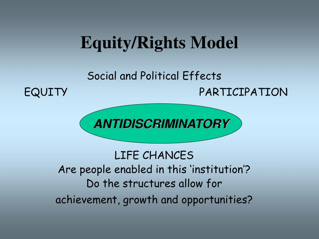 Equity/Rights Model
