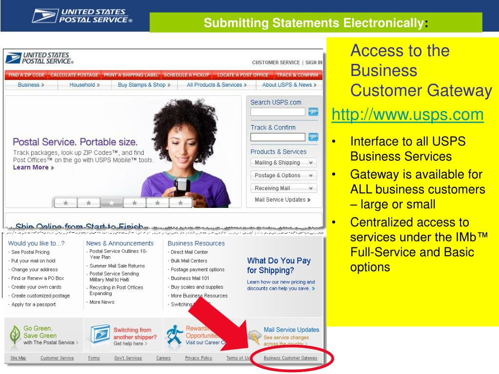 Submitting Statements Electronically