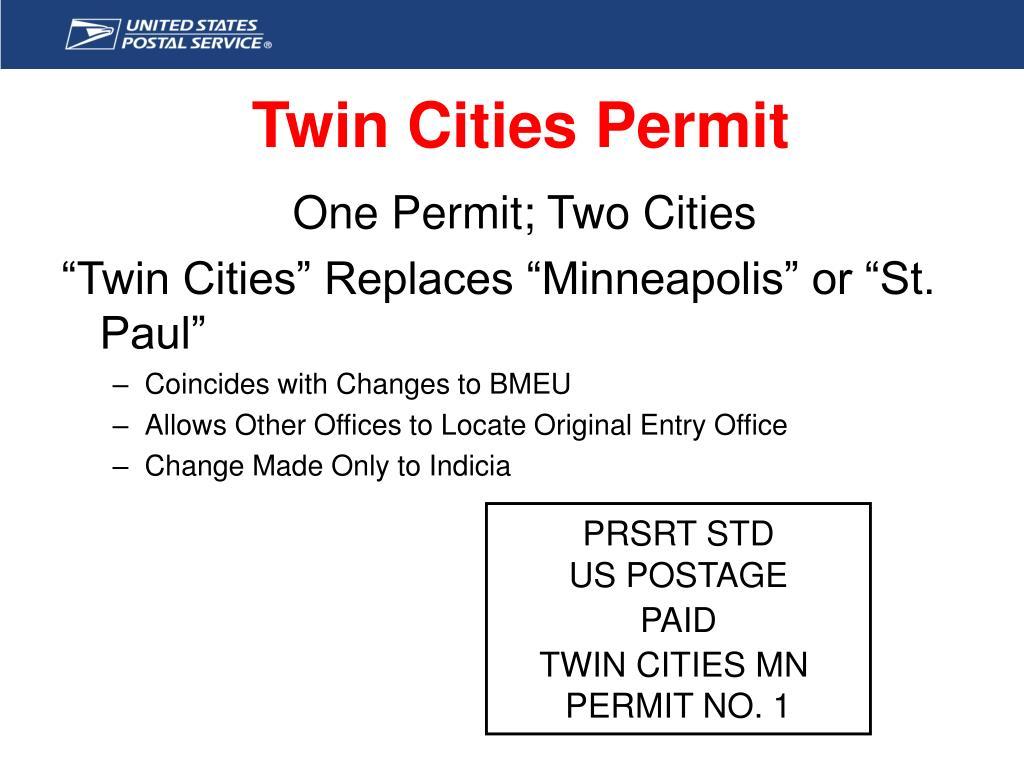 Twin Cities Permit