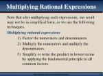 multiplying rational expressions16