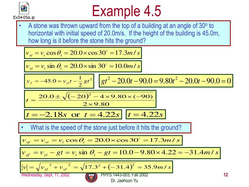 Example 4.5