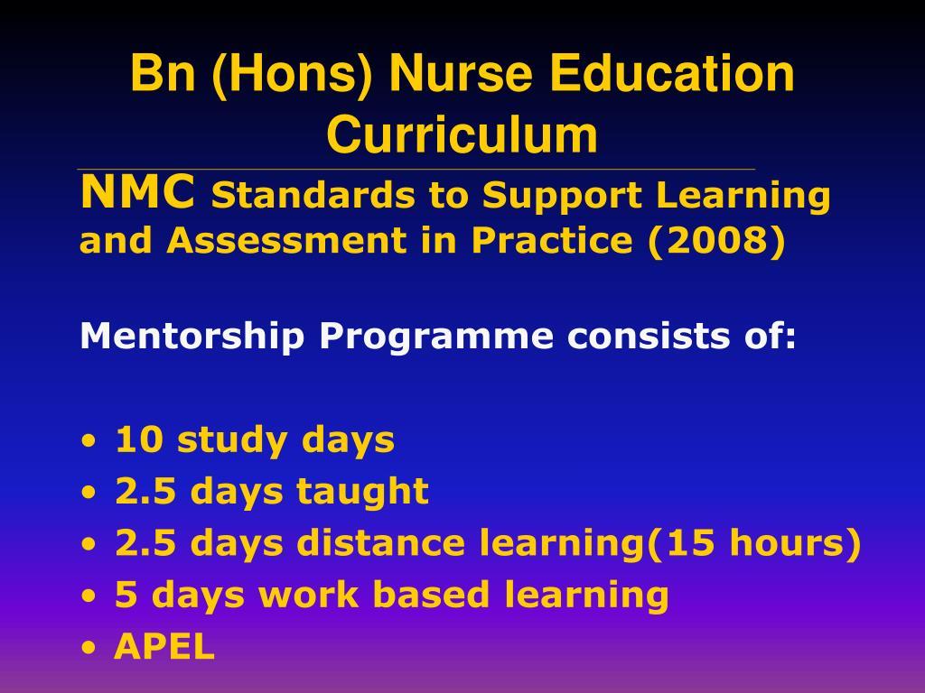 Mentorship Programme consists of: