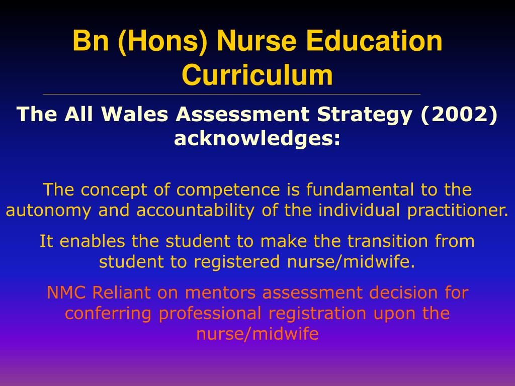 The All Wales Assessment Strategy (2002) acknowledges: