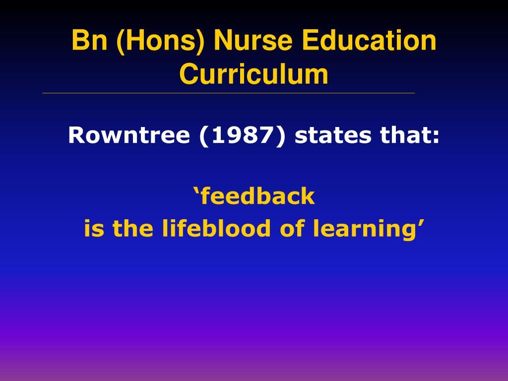 Rowntree (1987) states that: