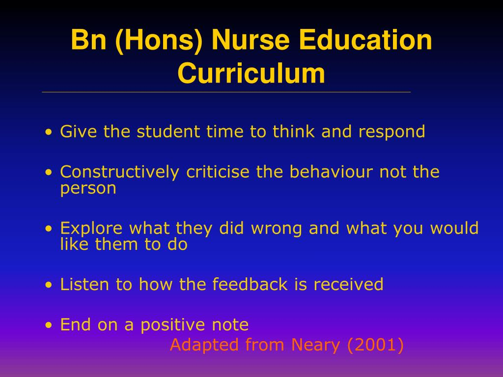 Give the student time to think and respond