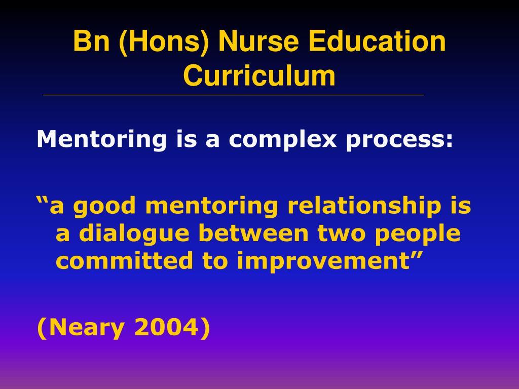 Mentoring is a complex process: