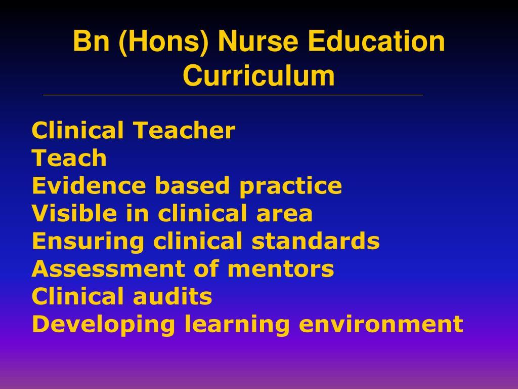 Clinical Teacher