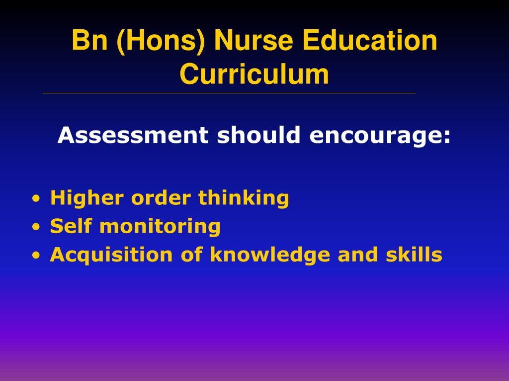 Assessment should encourage:
