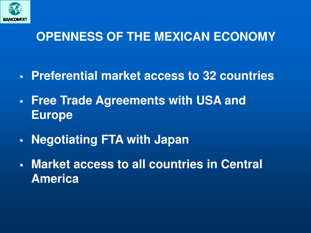 Preferential market access to 32 countries
