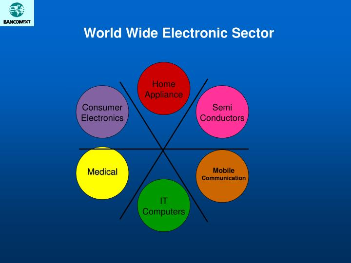 World wide electronic sector