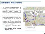 autostrade in poland tenders