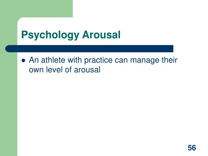 Psychology Arousal