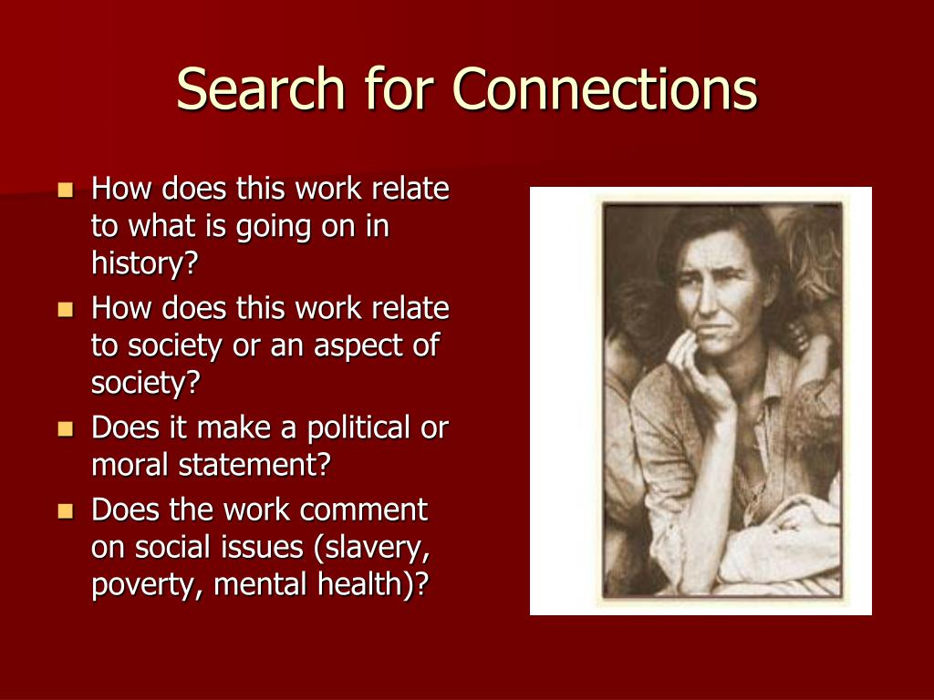 Search for Connections