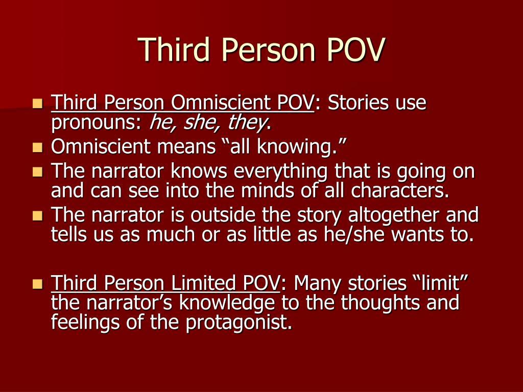 Third Person POV