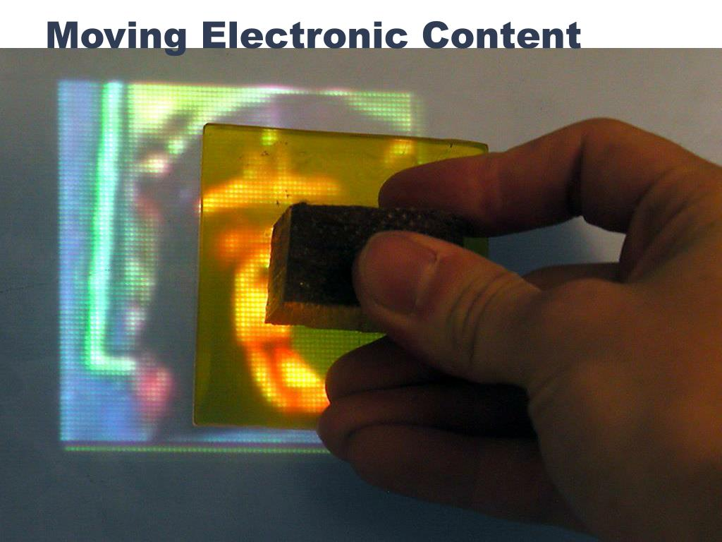 Moving Electronic Content