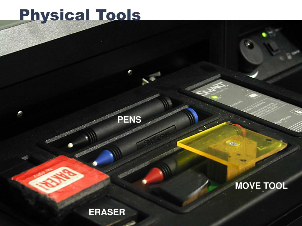 Physical Tools