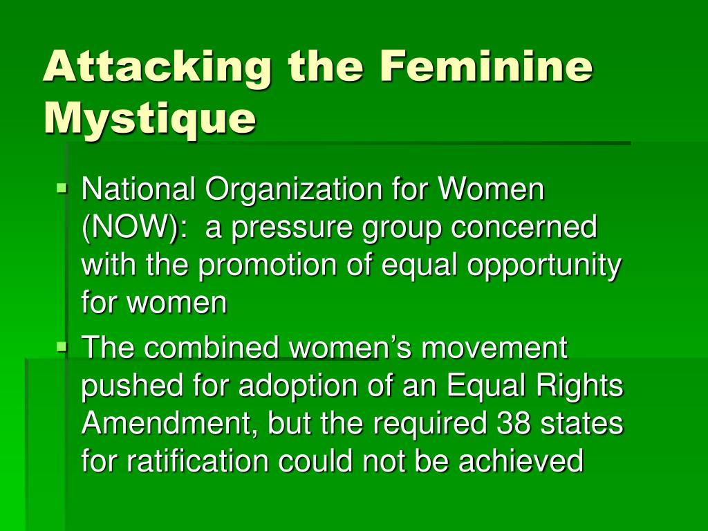 Attacking the Feminine Mystique