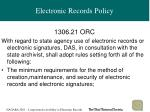 electronic records policy11