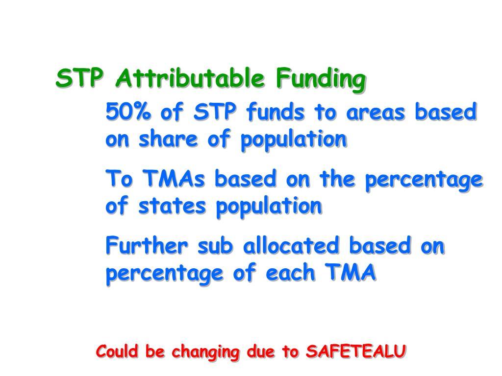STP Attributable Funding