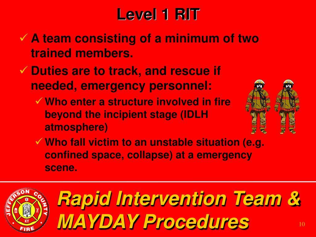 Level 1 RIT