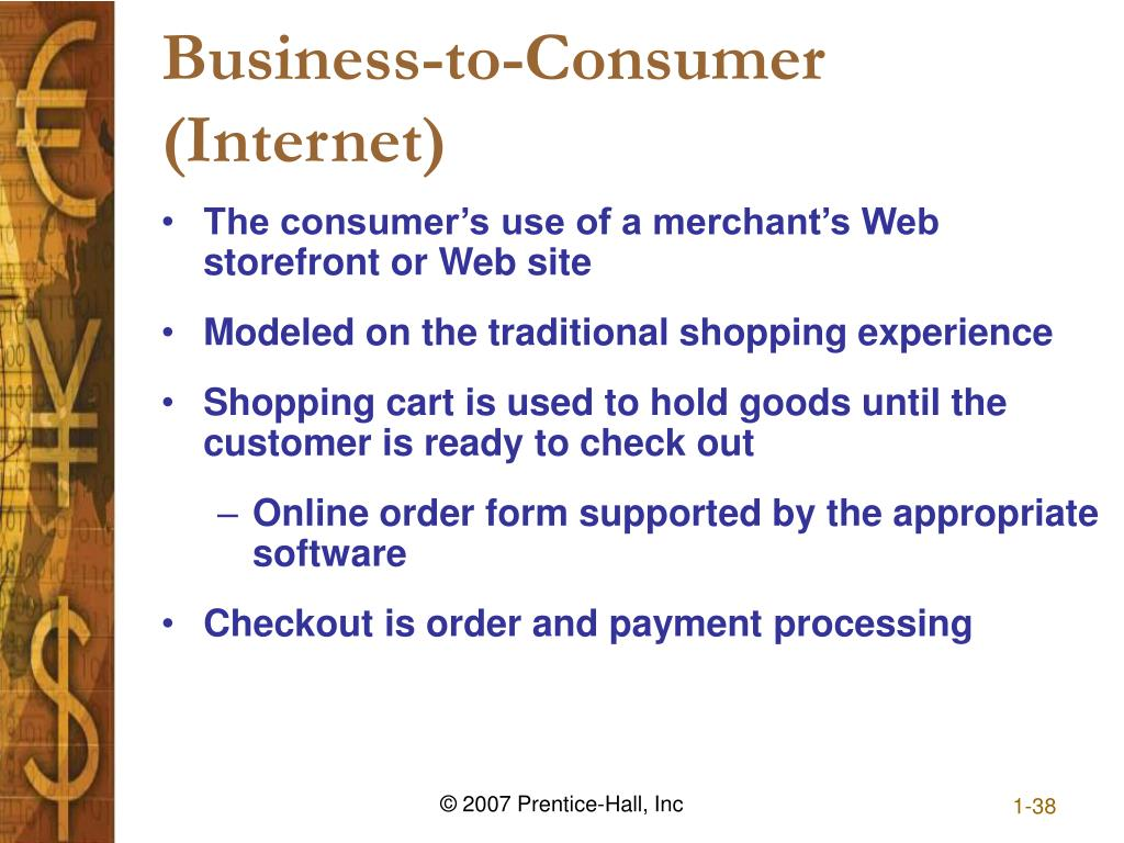 Business-to-Consumer (Internet)