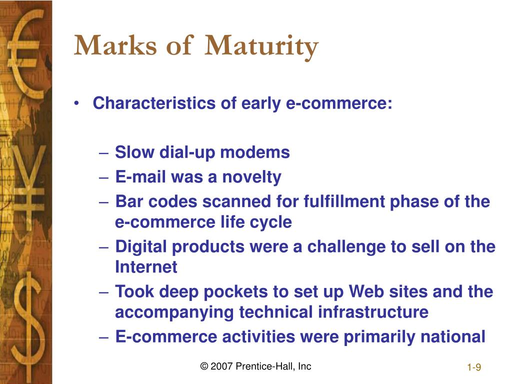 Marks of Maturity