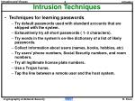 intrusion techniques4