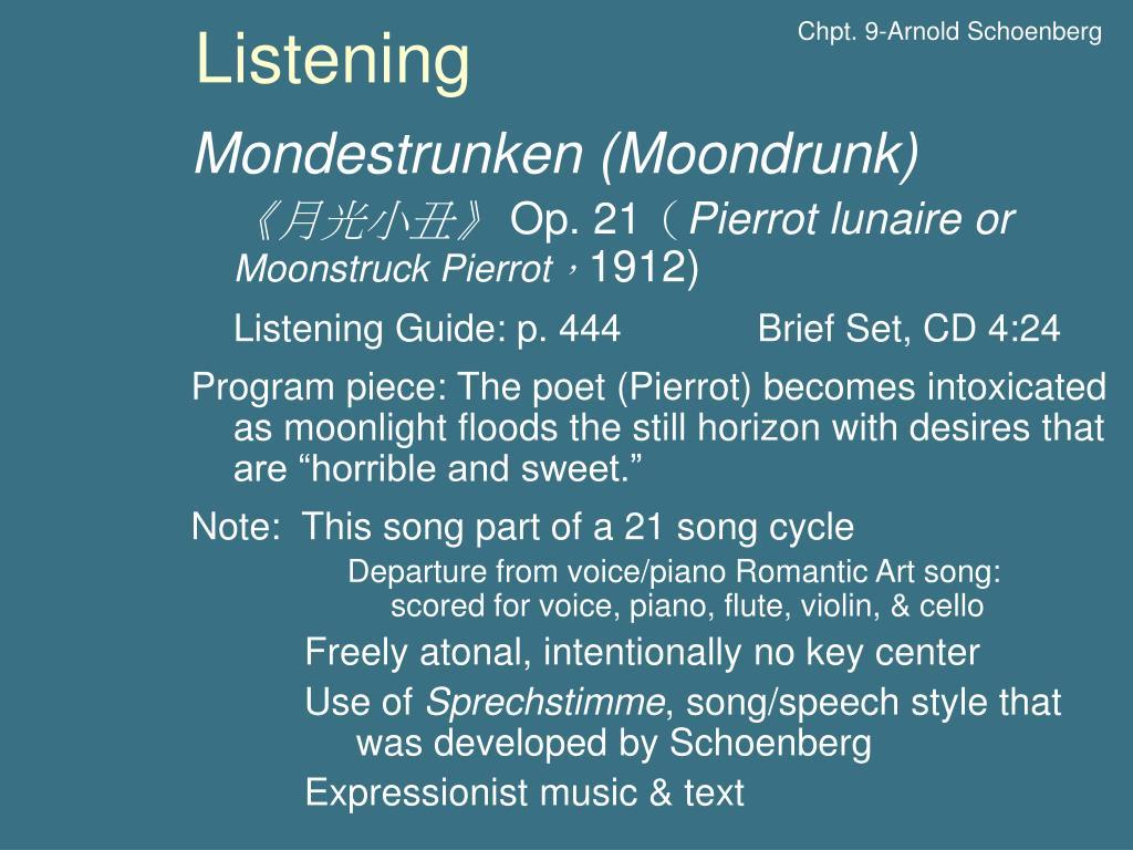 Chpt. 9-Arnold Schoenberg