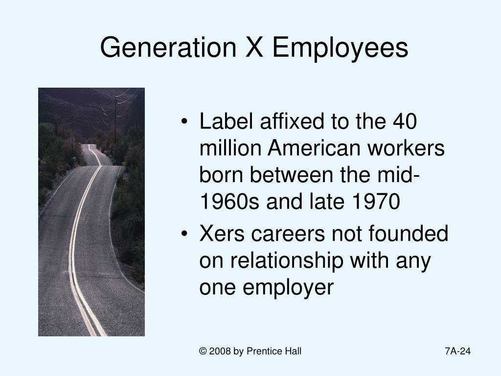 Generation X Employees