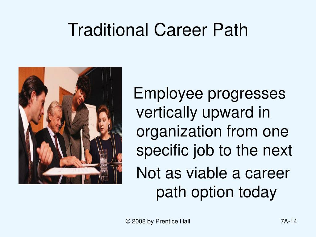 Traditional Career Path