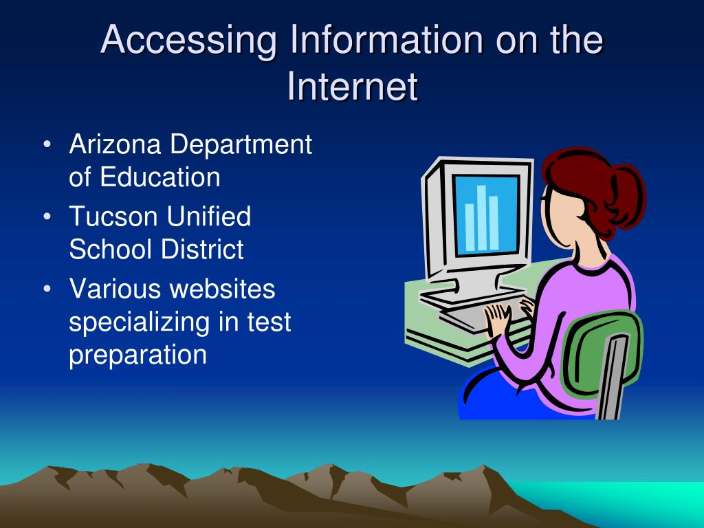 Accessing Information on the Internet
