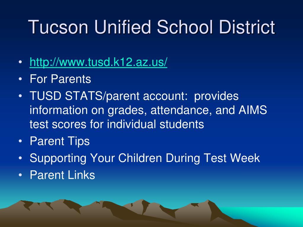 Tucson Unified School District