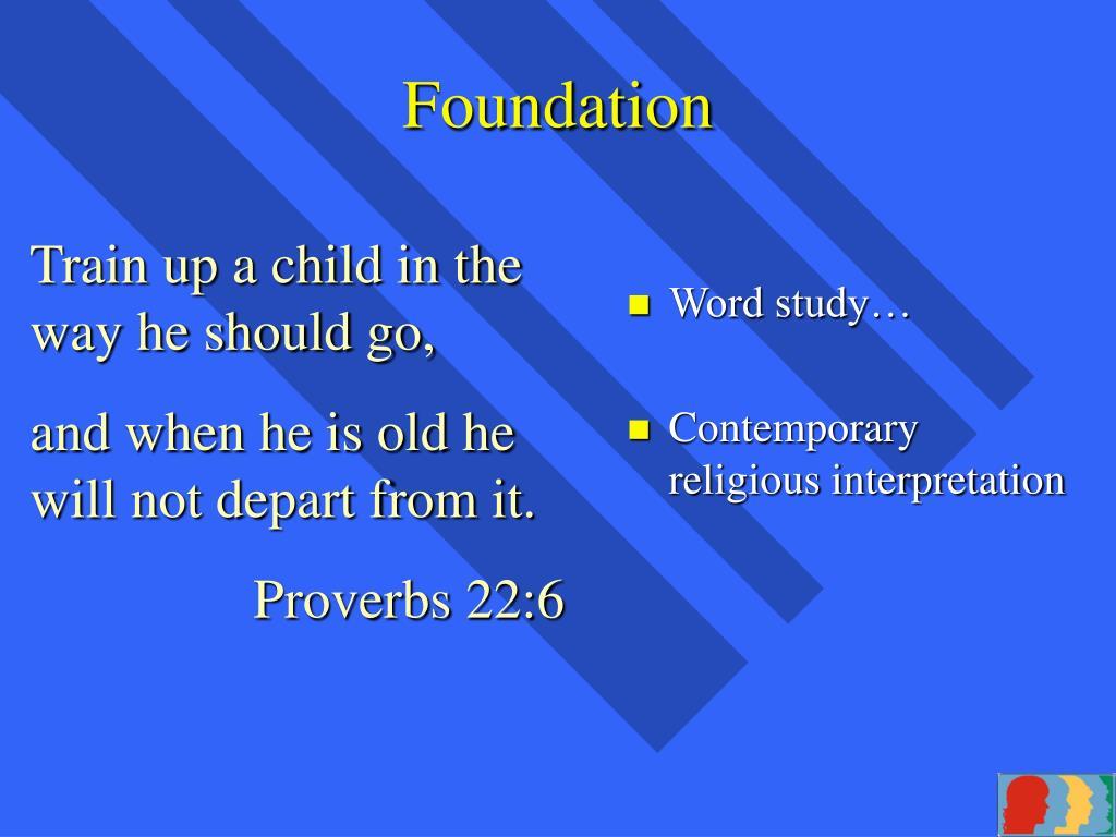Word study…