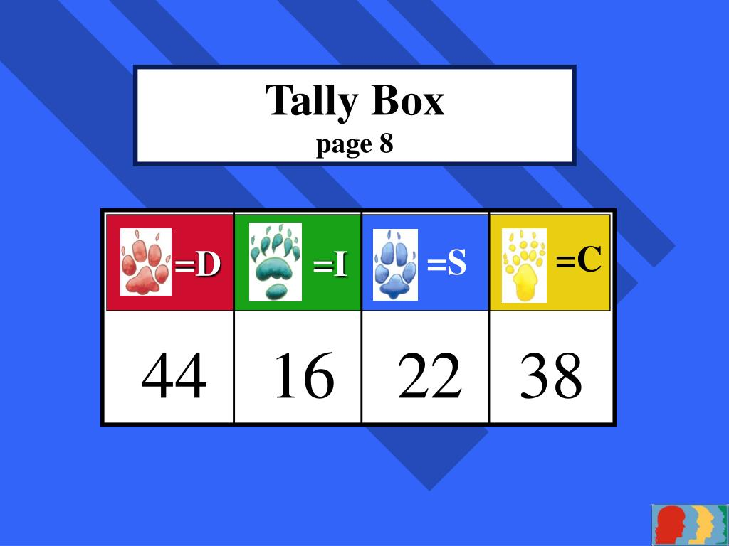 Tally Box