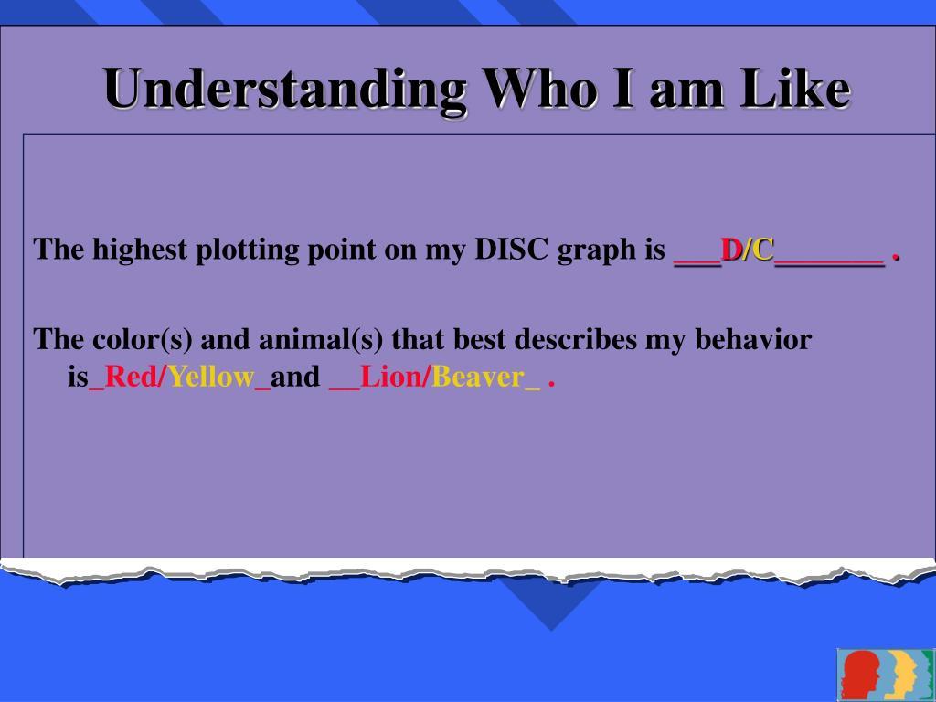 Understanding Who I am Like