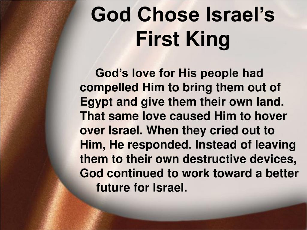 God Chose Israel's